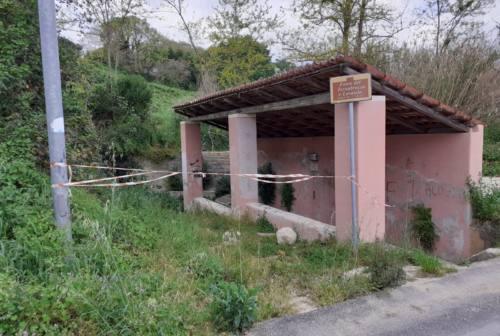 Jesi, fonte del Tornabrocco: degrado senza fine