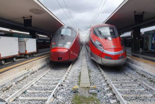 Torna Italo alla stazione di Pesaro per collegamenti con Firenze, Napoli, Roma