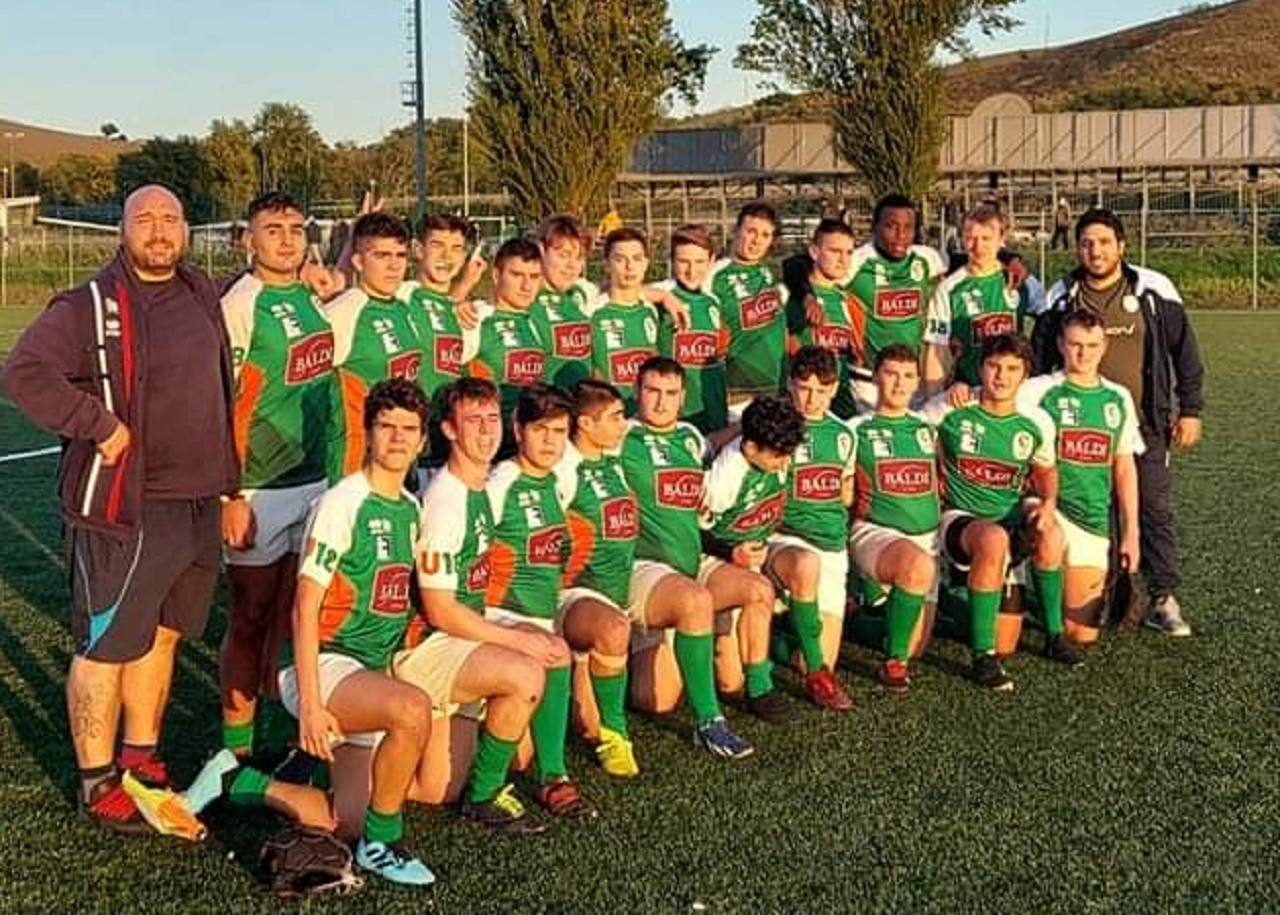 La Under 18 del Rugby Jesi '70