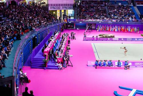 Torna la World Cup di ginnastica ritmica, a Pesaro 180 atlete di 38 nazioni