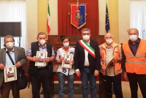 Premiati a Senigallia i nonni vigili all'entrata e all'uscita della scuola