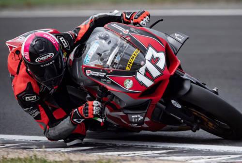 Motociclismo, Simone Saltarelli ancora a podio sul circuito di Vallelunga