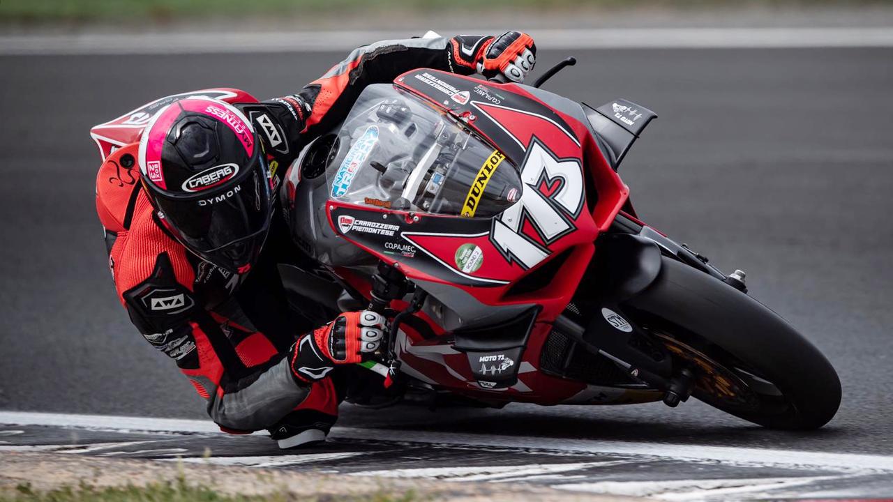 Motociclismo, il pilota di Senigallia Simone Saltarelli ancora a podio sul circuito di Vallelunga