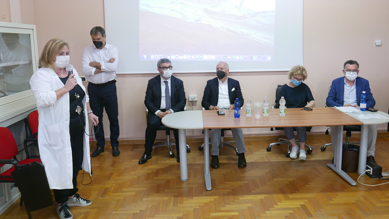 La presentazione dei nuovi primari per l'ospedale di Senigallia e di Jesi