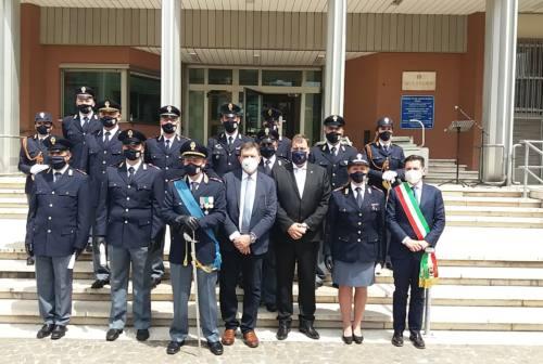 Festa della Repubblica, cerimonia solenne ad Ascoli. In questura le autorità premiano il personale della Polizia