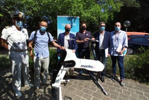 Ecco Manta5, da luglio via al noleggio della e-bike acquatica a Pesaro