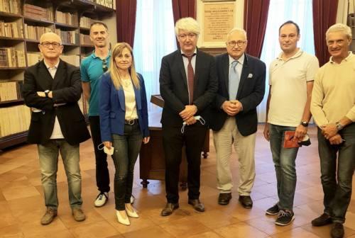Osimo, il direttore dell'Ufficio scolastico regionale in visita all'istituto Campana