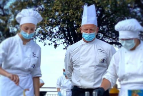 A Sirolo lo show cooking degli studenti dell'Alberghiero in piazza