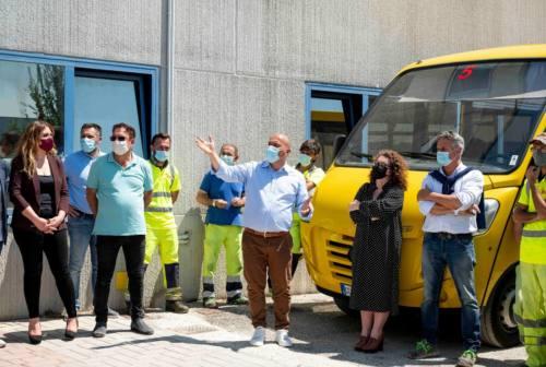 """Osimo servizi presenta i nuovi mezzi """"green"""" al servizio della città"""