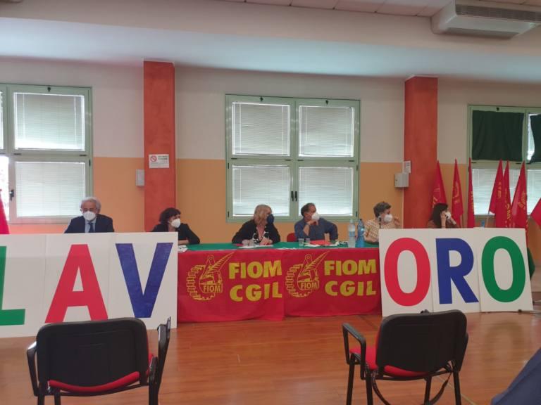 Conferenza Fiom Cgil Metalmeccanica Marche