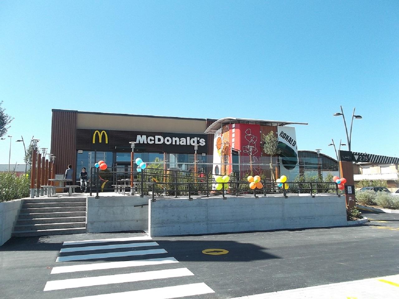 Il Mc Donald's di Osimo Stazione