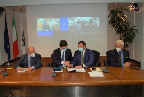 Imprese, accordo Regione Marche e Agenzia Ice. Acquaroli: «Mercati internazionali più vicini»