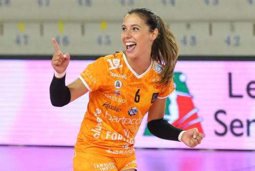 Volley, la Megabox ha la sua prima atleta italiana