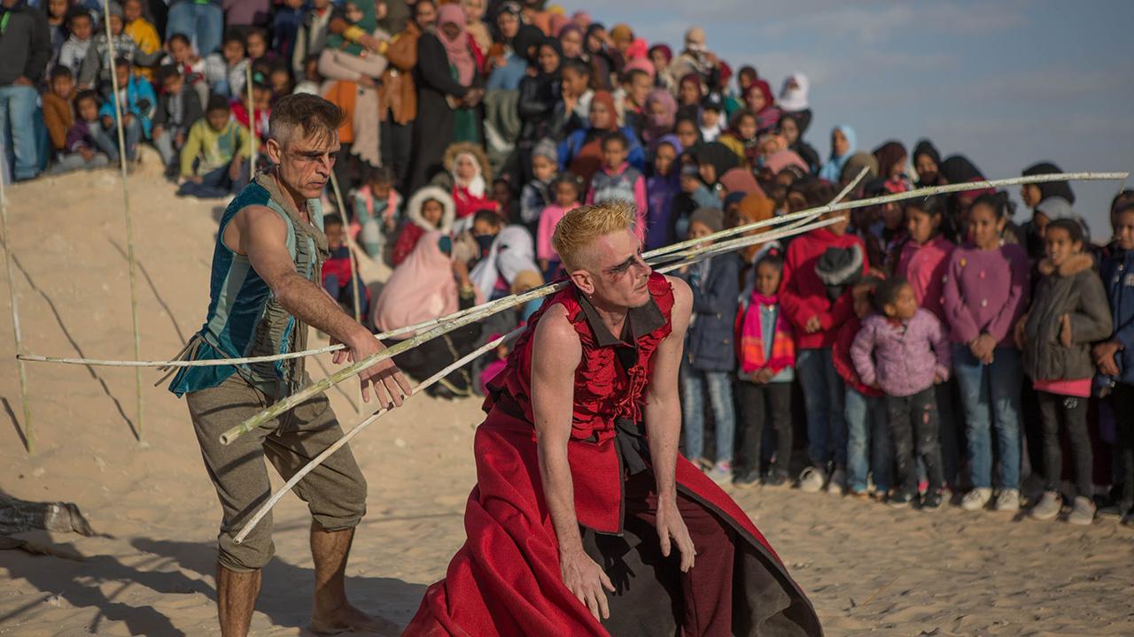 """Al teatro Goldoni di Corinaldo torna la danza con """"Il grande viaggio del divino Dante"""", lo spettacolo presentato in anteprima al Festival Internazionale del Teatro del Sahara in Tunisia"""