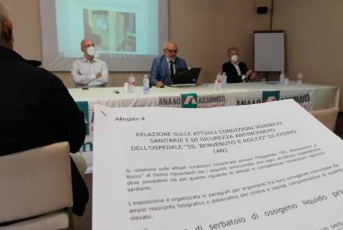 Ospedale di Osimo, l'allarme Anaao Assomed: «Gravi non conformità alle normative di sicurezza»