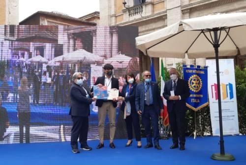 Covid, l'elaborato dello studente del Cambi, Matteo Galeazzi premiato a Roma dal Rotary International