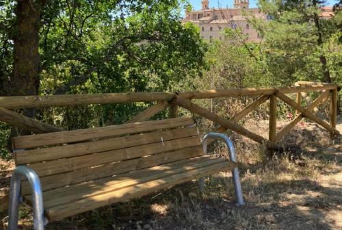 Morrovalle, restyling nella selva di San Francesco. «Uno spazio per recuperare la socialità»