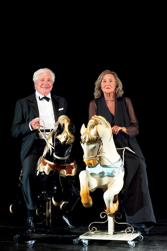 Paola Gassman e Ugo Pagliai nei panni dei due protagonisti