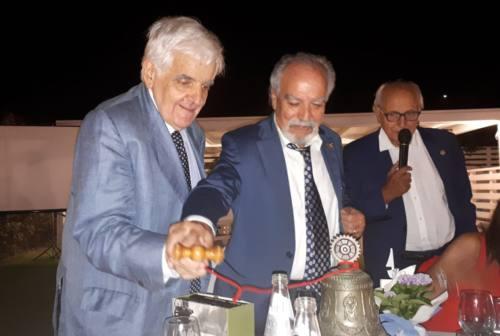 Rotary Falconara, passaggio di consegne: saluta Sergio Rinaldoni, Paolo Lovascio nuovo presidente