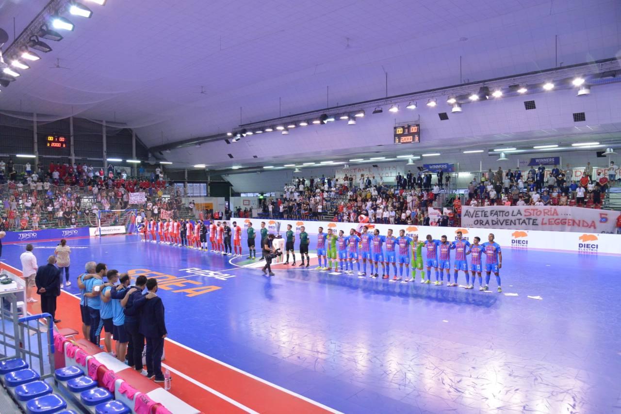 Italservice Pesaro-Meta Catania