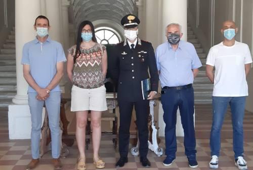 Monte Roberto, in visita a Villa Salvati il Comandante dei Carabinieri di Jesi