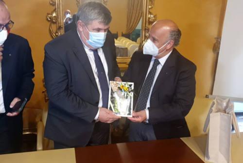 Ad Ascoli Piceno l'ambasciatore moldavo Anatolie Urecheanu