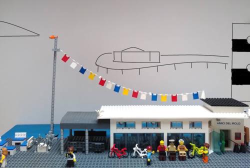 Senigallia, la capannina degli Amici del Molo diventa un modellino Lego