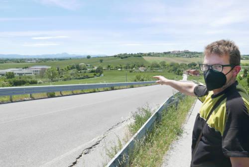Bretella di Montemarciano, i residenti: «Troppo vicina alle case»