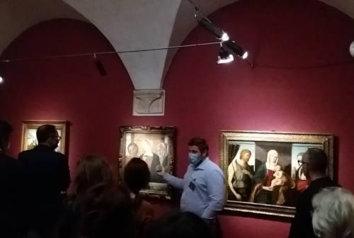 Ascoli, apre la mostra d'arte con le opere della Collezione Cavallini Sgarbi
