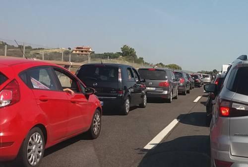 Ancora incidenti nel tratto sud dell'A14: code anche per i lavori