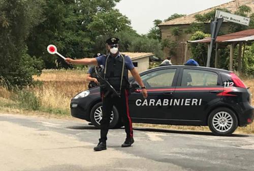 Rafforzati i controlli dei carabinieri contro i furti nei comuni dell'hinterland senigalliese