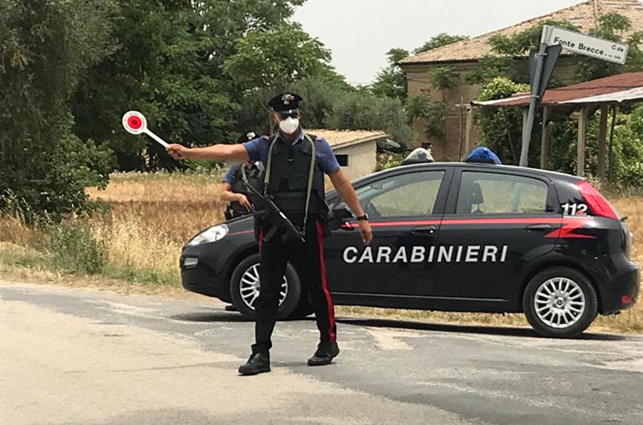 carabinieri corridonia controlli stradali sicurezza