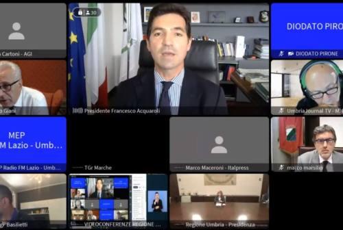 L'Italia dei due Mari, via al tavolo operativo Marche Lazio Abruzzo Umbria Toscana per un piano infrastrutturale comune
