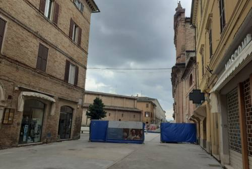 Jesi, Corso Matteotti: via alla pavimentazione