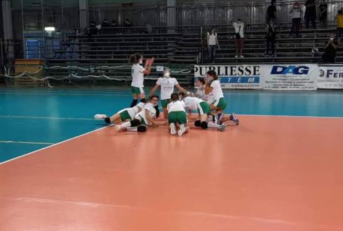 Come vola l'under 13 del Cus Ancona Volley