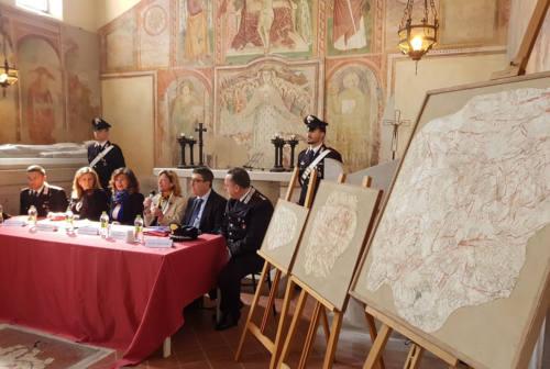 Falconara, dopo oltre 40 anni tornano visibili le sinopie della chiesa di Santa Maria della Misericordia