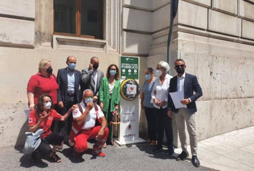 Ancona sempre più cardioprotetta: inaugurati tre nuovi defibrillatori