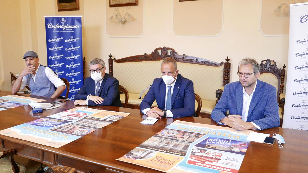 Presentati gli eventi estivi 2021 promossi dal Comune di Senigallia e dalla Confartigianato
