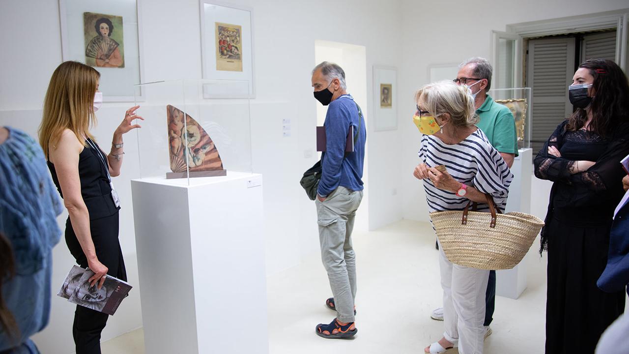 """Inaugurata la grande mostra che Trecastelli promuove per l'estate 2021: """"Poesia della materia - Opere dall'archivio Nori de' Nobili"""""""
