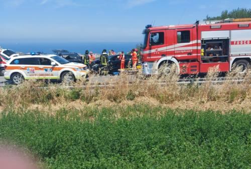 Ancona, due incidenti in poche ore: 5 i feriti