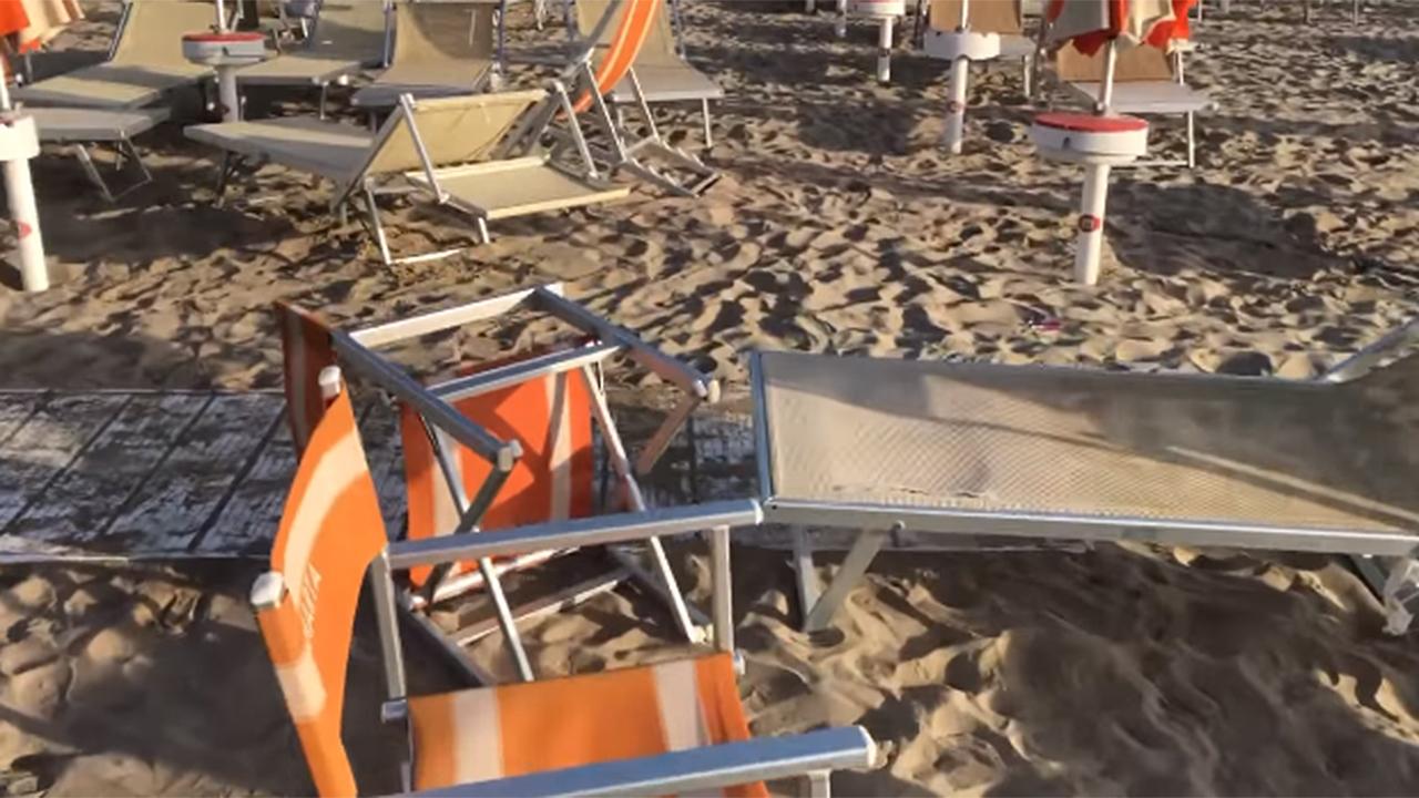 Ancora danni agli stabilimenti balneari di Senigallia: l'ennesimo episodio al club Bagni Marta 55