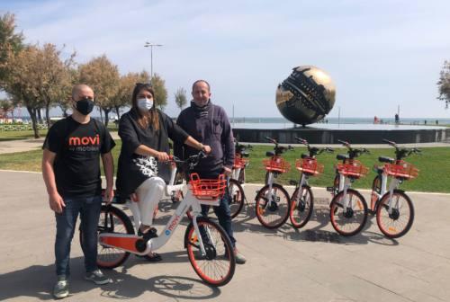 A Pesaro il primo bike sharing con pedalata assistita delle Marche