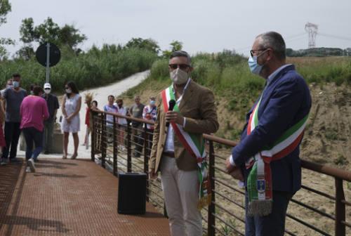 Montemarciano e Monte San Vito più vicini grazie al nuovo Ponte sul Triponzio