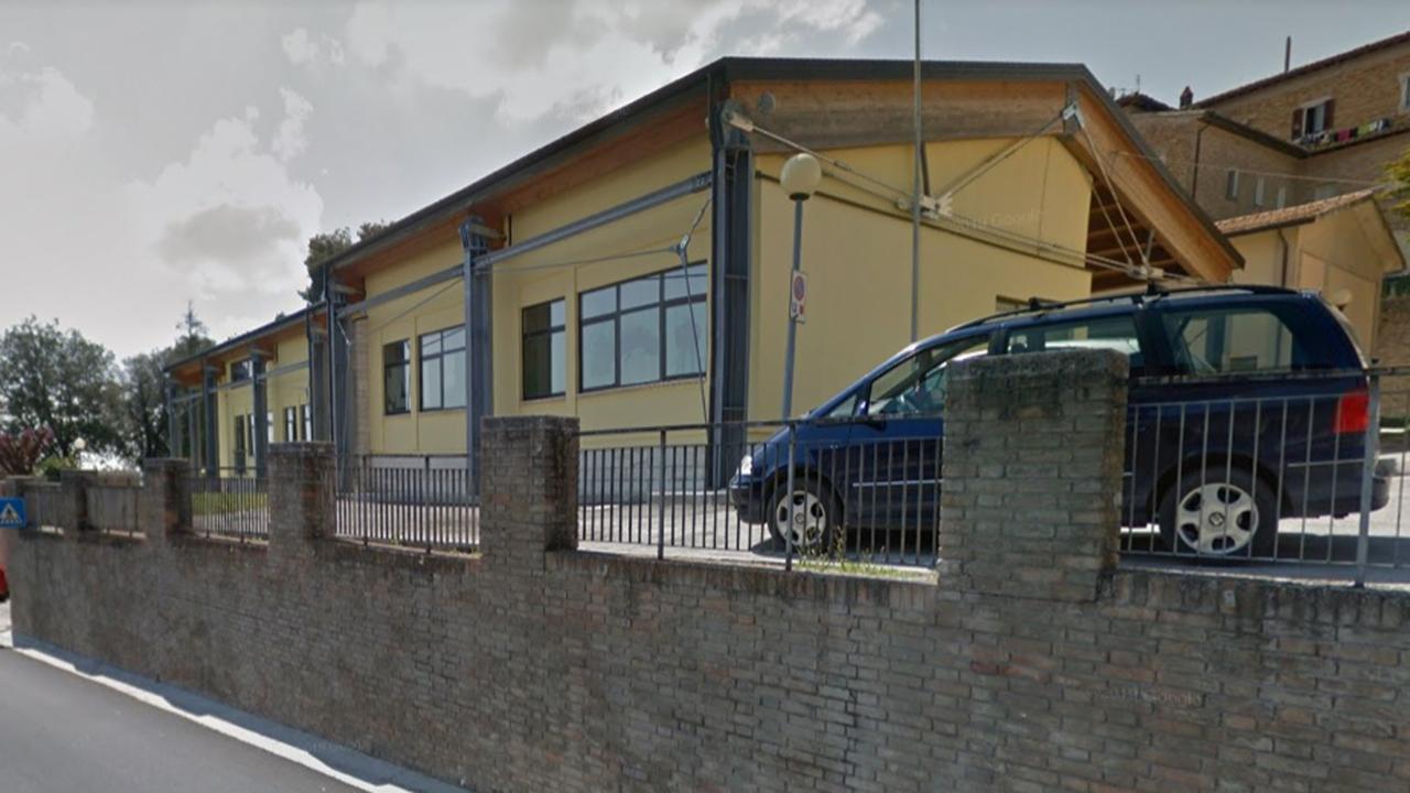 La scuola a Belvedere Ostrense