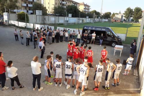 Jesi, nel nome di Armando Bigi la storica segreteria dell'Aurora Basket in via del Prato