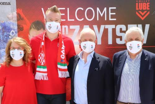 Civitanova, Zaytzev torna alla Lube: «Ho lasciato un Club vincente e lo ritrovo sul tetto d'Italia»
