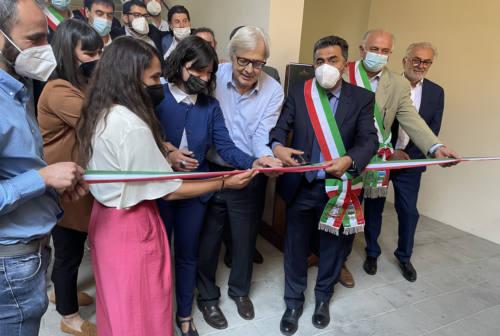 Ubaldini, signori degli Appennini. Vittorio Sgarbi all'inaugurazione ad Apecchio: «Una mostra che racconta la storia del Montefeltro»