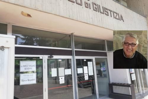 Il Tribunale di Macerata si ferma per ricordare Marco Tarquinio Severini