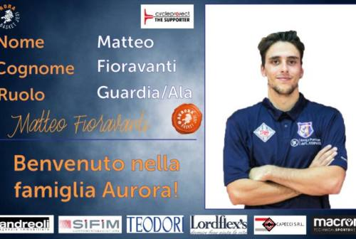 Basket, l'Aurora Jesi innesta Matteo Fioravanti