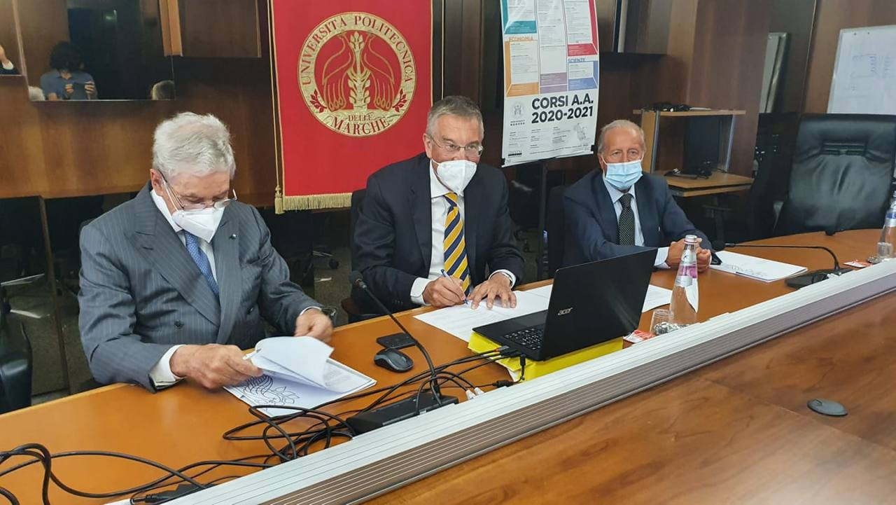 Firma del protocollo tra Univpm e Segretariato Permanente Iniziativa Adriatico-Ionica